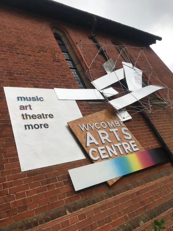 Arts Centre Sign