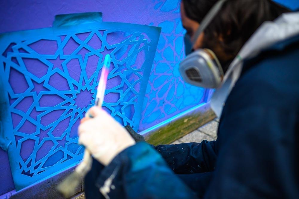 Decreate Wycombe Arts Centre Graffiti Art