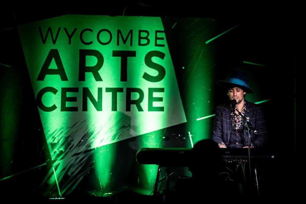 Jaz Delorean at Wycombe Arts Centre