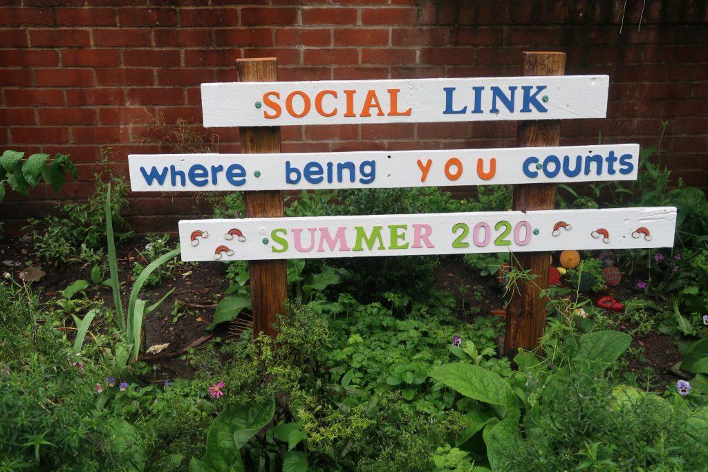Social Link Garden