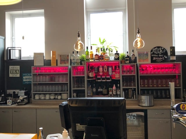 Wycombe Arts Centre Cafe Space Bar Refurb