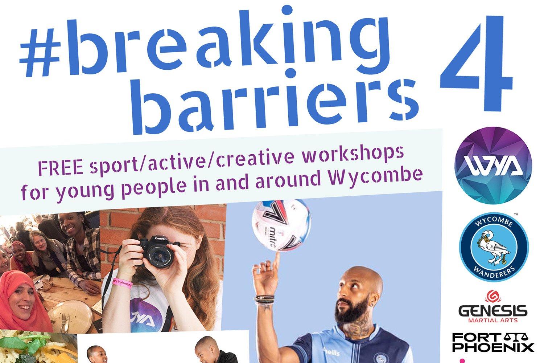 #BreakingBarriers4 Flyer