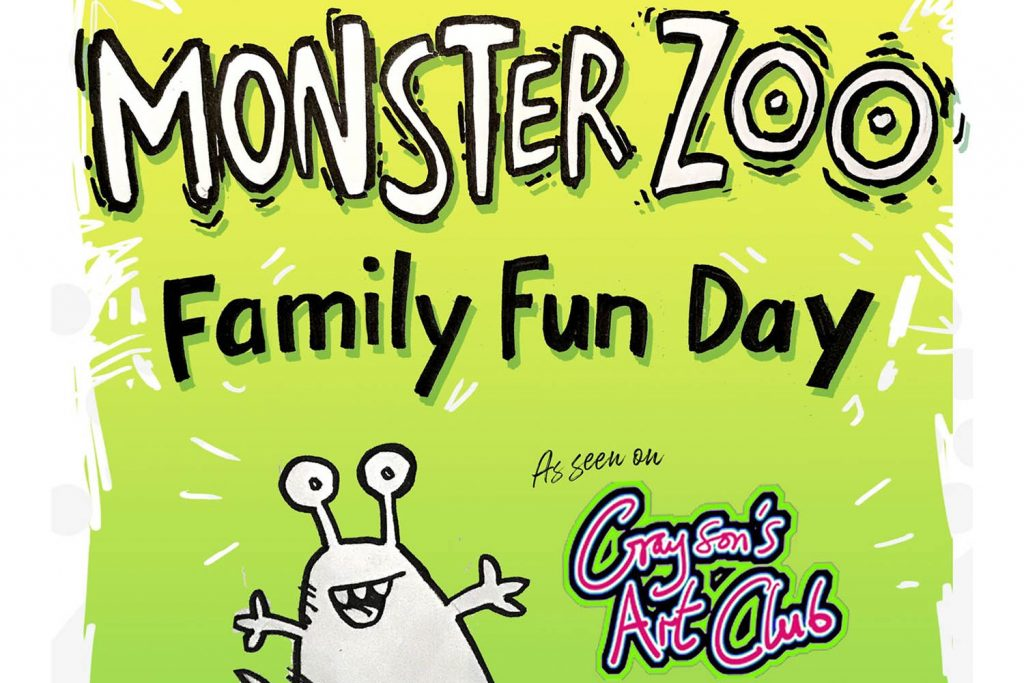 Monster Zoo Family Fun Day at Wycombe Arts Centre