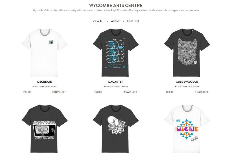 Charity Tshirt Campaign
