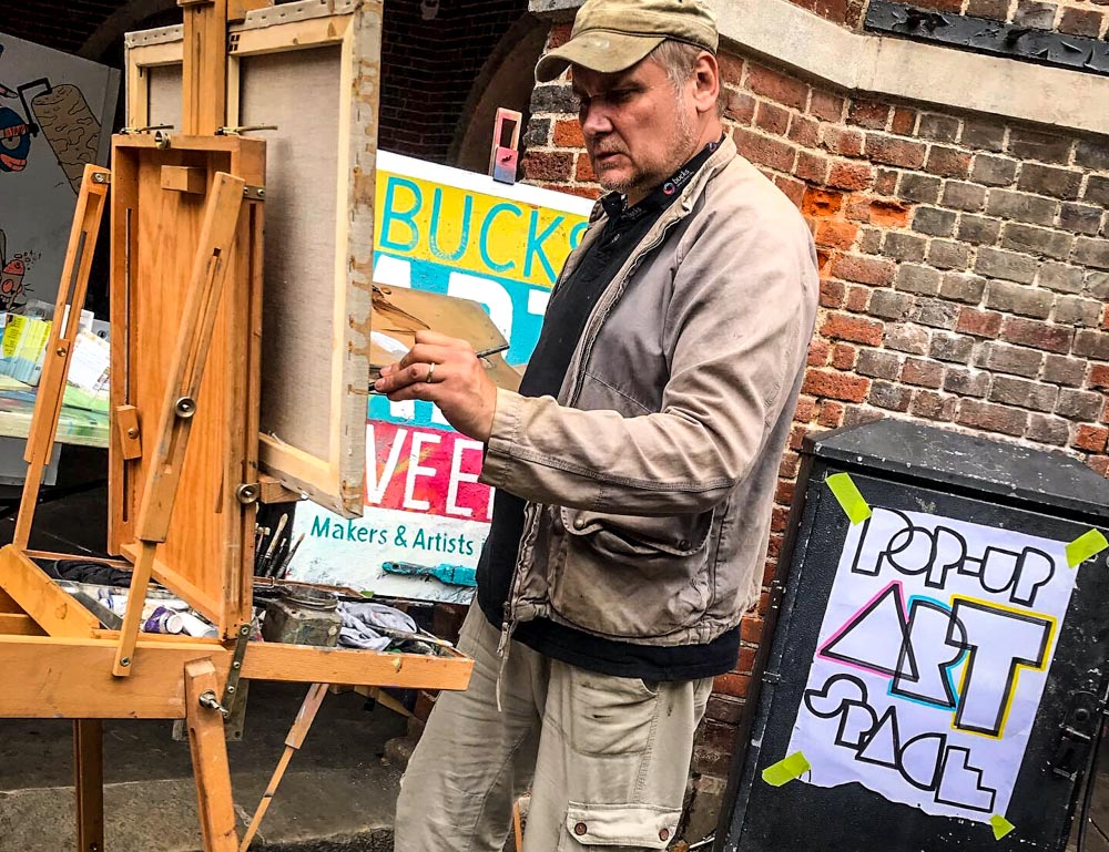 Pop-Up Art at Wycombe Arts Centre