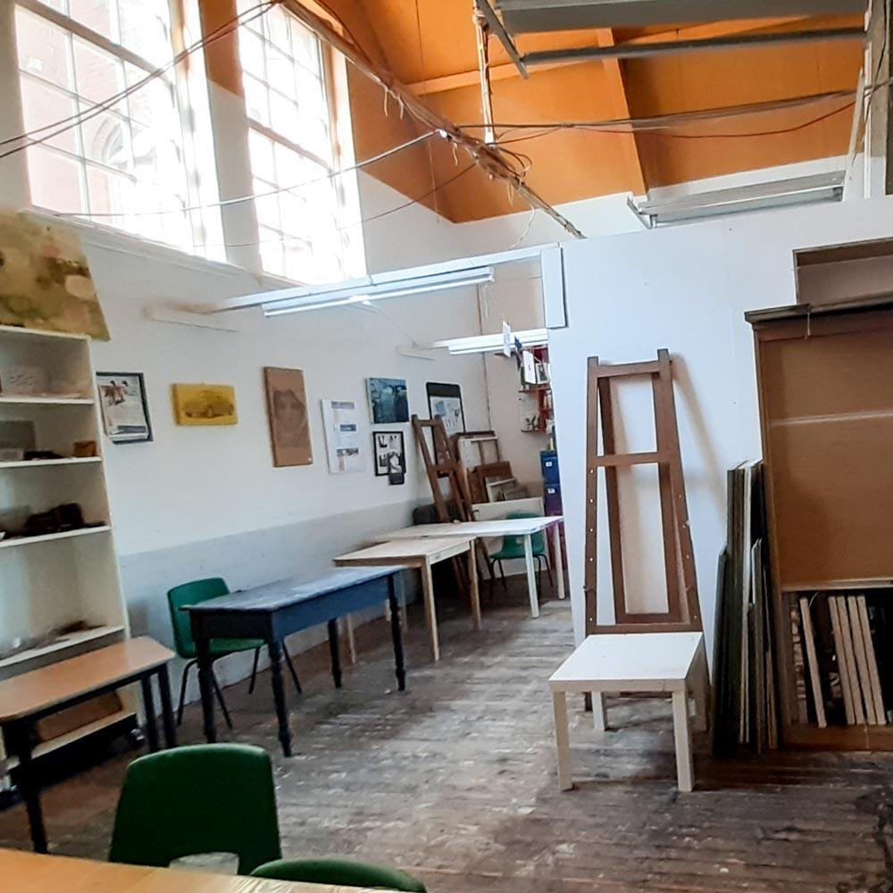 Wycombe Arts Centre Art Studio