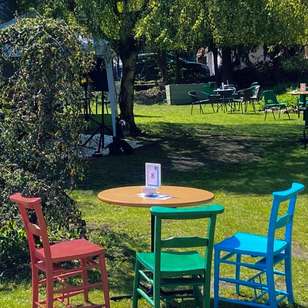 Wycombe Arts Centre Garden