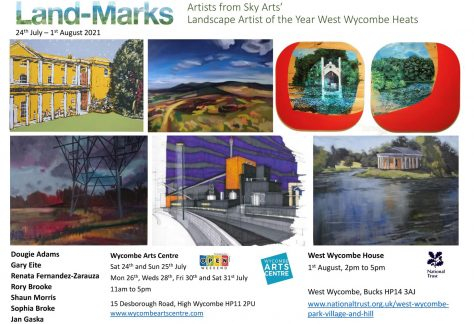 Land-Marks Exhibition at Wycombe Arts Centre