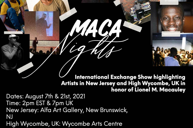 MACA Nights at Wycombe Arts Centre