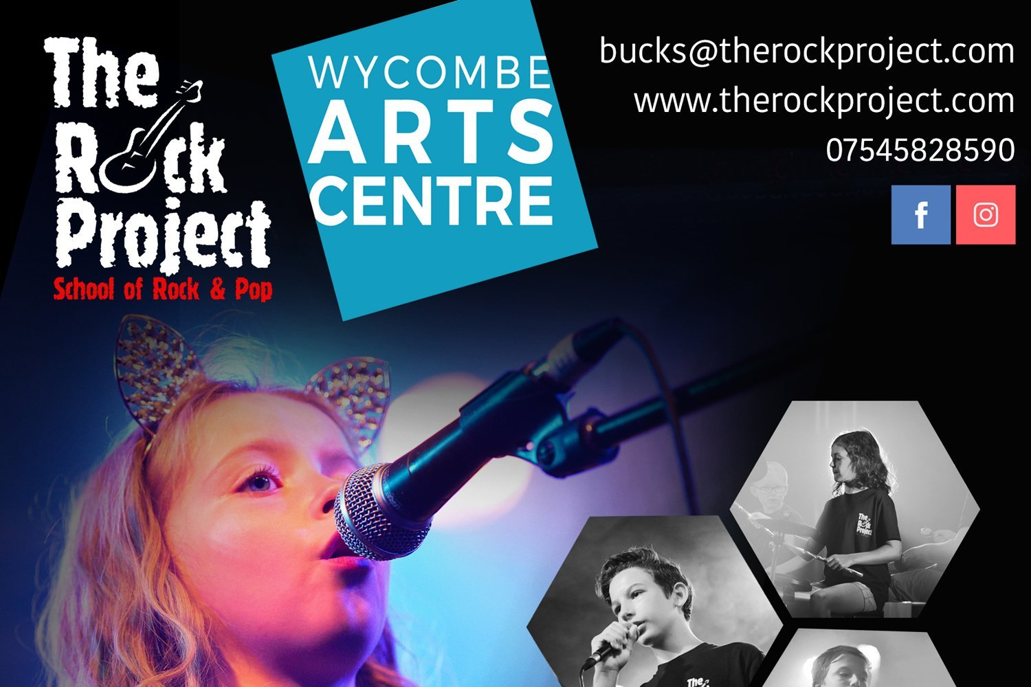 The Rock Project at Wycombe Arts Centre