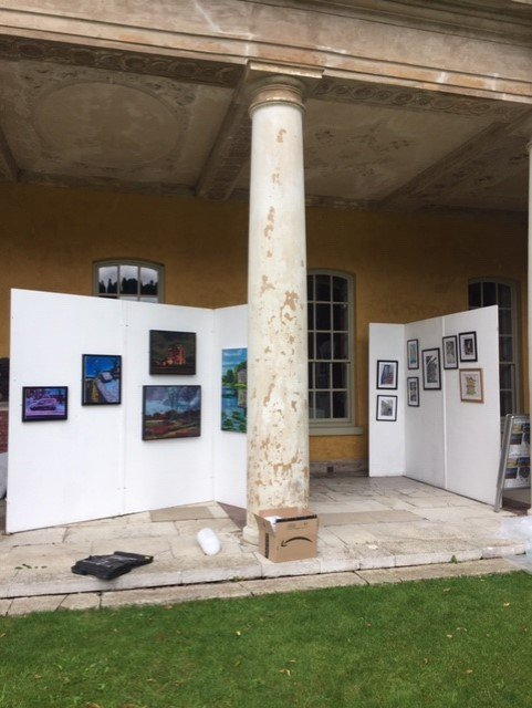 Land-Marks Exhibition at West Wycombe House #1