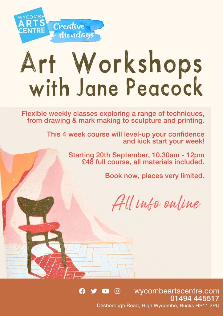 Art Workshops with Jane Peacock