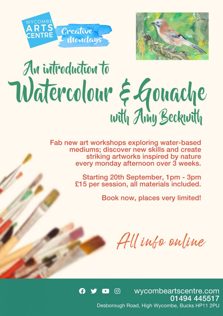Art Workshops with Amy Beckwith