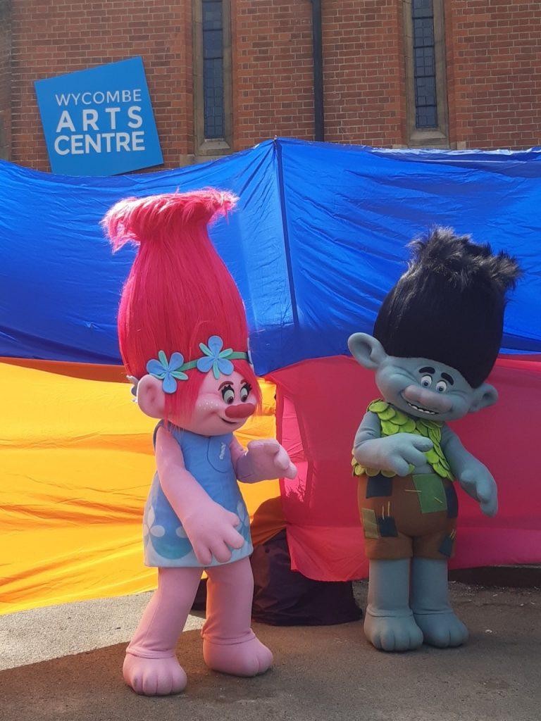 Trolls at Wycombe Arts Centre